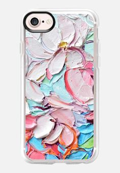 Cherry Blossom Petals by Ann Marie Coolick #phonecase #iphone #casetify