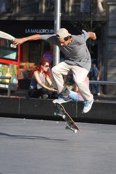 Skater Barcelona