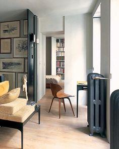 Pierre Saalsburg designed Paris apartment