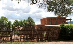 New Mexico Adobe Fence - See more at: http://chambersarchitects.com/blog/9-green--sustainable-living/227-historic-preservation-and-interior-design-part-one.html Read the second part of our blog article at: http://chambersarchitects.com/blog/13-historical-design/228-historical-preservation-part-two.html And take a look at more photos like this one at: http://chambersarchitects.com/blog.html