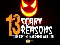 https://social-media-strategy-template.blogspot.com/ #SocialMedia #ContentMarketing 13-reasons-your-content-marketing-will-fail by Content Marketing Institute via Slideshare #contentmarketing
