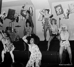 Go go girls dancing away at Danceteria by Robert Carrithers.