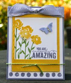 Stampin' Up! Painted Petals Delightful Wonder