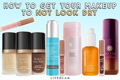 How to Get Your Makeup to Not Look Dry | LiveGlam  With winter here in full force, your skin is likely going through a rough patch (literally), which means your precious makeup lewks are going through it too. For those suffering from dry skin but still trying to keep that face beat throughout these chilly months, here are some great tips on how you can get your makeup to look less dry and more fabulous! For more makeup and beauty tips, go to liveglam.com #LiveGlam #beauty #makeup Beauty Makeup, Beauty Tips, Beauty Hacks, Dry Skin, Your Skin, Pro Makeup Tips, Truth Serum, Face Beat, Makeup Yourself
