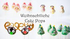 KücheKreativ: Weihnachtliche Cake Pops   Tannenbaum, Weihnachtsmann, Sch...