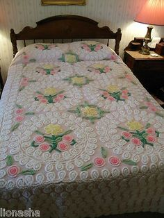 Chenille Bedspreads just like grandmas Its the Little Things