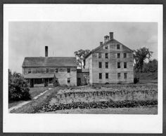 Bell House and Boarding House, Prison Farm, Enfield, Ct. :: Shaker Photographs