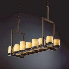 Justice Design Group CNDL-8764-1 14 Light Candlearia Dakota Chandelier