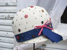 1960s Marche Exclusive Mod Hat by MBarnageDesigns on Etsy, $24.50