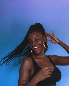 Pretty Black Girls, Black Girl Art, Black Girl Magic, Beautiful Dark Skinned Women, Beautiful Black Women, Beautiful People, Happy Black, Dark Skin Beauty, Black Beauty