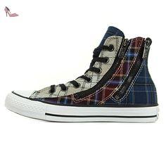 Converse CT Dual Zip High White Bordeaux 549575C, Basket - 36 EU - Chaussures converse (*Partner-Link)