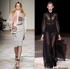 Sheer clothing for spring: dare to tease. - Fashionising.com