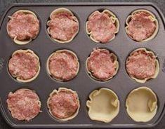 Des mini-pâtés à la viande très facile à faire… et délicieux ! »