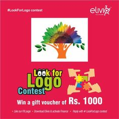#contest #contestalert #LookforLogo #quiz  The image below has logos of 2 entities merged in it. Tell us the name of these 2 entities and stand change to win gift voucher of Rs. 1000/-. Steps for participation: 1. Download ELIVIO APP & ACTIVATE FINANCE... See more
