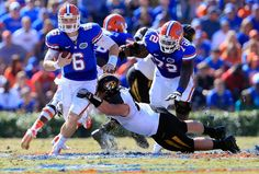 All that Missouri smack-talk resulted in the Florida Gators givin' them a fine, Southern, welcome-to-the-SEC...which resulted in virtually every other school in the South Eastern Conference givin' Missouri the same fine Southern welcome...mind your manners newcomers, this IS the SEC.
