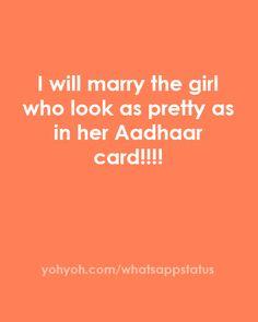 Aadhaar card -whatsapp -whatsappstatus
