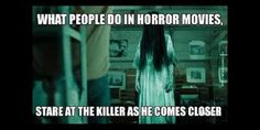 Horror Show, Horror Films, Horror Stories, Funny Horror, Creepy Horror, Movie Memes, Funny Memes, Horror Costume, Creepy Facts