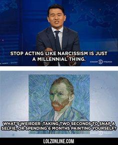 Stop Acting Like Narcissism... #lol #haha #funny
