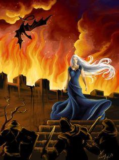 Daenerys Targaryen by vopoha