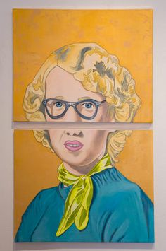 Waverlyn, acrylic, 2014, Anna Parks