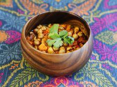 Slow Cooker Vegan Chickpea Chili Recipe - Healthy Comfort Food