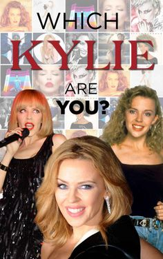 "We created a Which Kylie Minogue Are You? quiz this week. | Kylie Minogue Took Our ""Which Kylie Are You?"" Quiz"