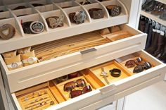 Closet Features That Make Storage A Breeze: Jewelry Storage #calclosets #design