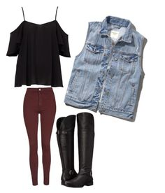 """""""Chill Dance Party"""" by giuliana-bertoia on Polyvore featuring Abercrombie & Fitch, Topshop and Naturalizer"""
