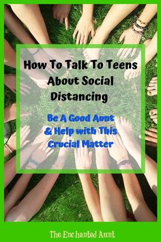 So how can you broach this topic with your teens? How do you effectively communicate the importance of social distancing without overwhelming them? Lucky for you, I have some ideas.