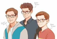 I think Tobey did a good job introducing Spider-man but I can't stand him as Peter Parker. I liked Andrew Garfields Peter better. And of course, we have Tom' s performance I thought he did a good job as Peter and Spidey.