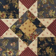 Block 8 - Austen Family Album. Pat kept track of the blocks on Pinterest. Click to see her page with all 36 links.