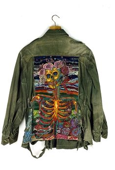 military jacket embroidery - Buscar con Google