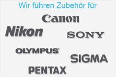 Fotozubehör für alle Kamerahersteller bei www.ares-foto.de