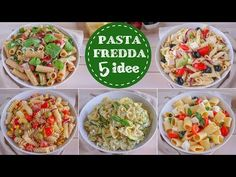 5 IDEE DI PASTA FREDDA PER L'ESTATE - Ricetta Facile Fatto in casa da Benedetta - YouTube