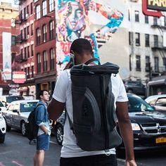 On the go. #backpack #bag #wanderlust #carryon #suitcase #luggage #soho #nyc #onthego #wanderlust #passionpassport #destination #adventure