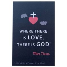Lot de 10 images Where there is love, there is god - Tante Menoue