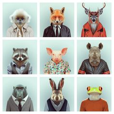 Zoo Book by Yago Partal