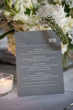 grey and white wedding palette // brides of adelaide magazine