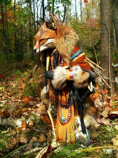 Lame Fox Manitou Spirit or Totem by FreedomGallery on Etsy, $945.00