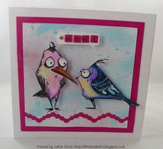 Carole's Crafty Creations: Crazy Birds #2 - Friday 29th May 2015