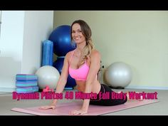 Dynamic Pilates 40 Minute Full Body Workout - YouTube