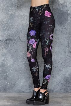 Garden Of The Dead Purple Toasties - 7 DAY UNLIMITED ($80AUD) by BlackMilk Clothing