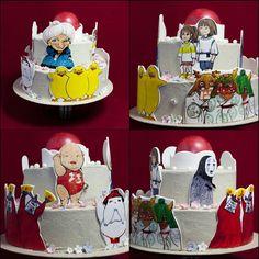 """Очень люблю мультик """"унесённые призраками"""" поэтому особенно приятно сделать по его мотивам торт. Спасибо маме что нарисовала всех персонажей  #унесенныепризраками #хаяомиядзаки #spiritedaway #hayaomiyazaki #торт #тортнасвадьбу #тортнапраздник #тортнавсеслучаижизни #тортнаденьрождения #тортик #тортнаюбилей #подарки #тортбезмастики #праздник #праздничныйторт #велюр #вечеринка #фудпорно #food #foodpics #cake #cakestagram #foodporn #шоколад #chocolate #дизайн #искусство #design #spirit #духи by…"""