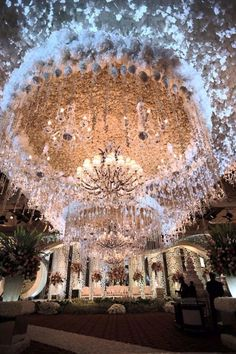 Ideas wedding ceremony ideas indoor chandeliers for 2019 Wedding Stage, Wedding Goals, Wedding Ceremony, Wedding Venues, Indian Wedding Decorations, Wedding Themes, Wedding Designs, Wedding Ideas, Trendy Wedding