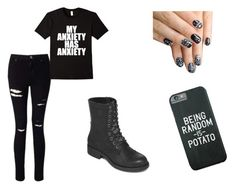 """""""Untitled #11"""" by nicolemoon1405 ❤ liked on Polyvore featuring Miss Selfridge, MIA and alfa.K"""
