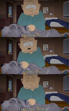 *heart shatters* *rocks in corner while trying not to cry* Best Of South Park, Trey Parker, South Park Memes, Try Not To Cry, Goin Down, Creek South Park, Out Of Touch, Cutest Thing Ever, Going Home