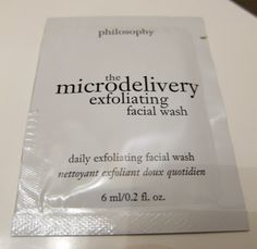 Philosophy Microdelivery Exfoliating Wash | Beauty Test Dummies