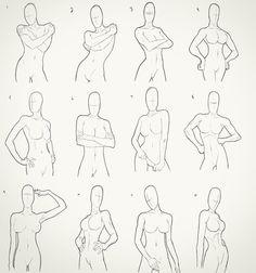 Figure Drawing Female Female Torso Drawings by *Juggertha on deviantART - Arm Drawing, Female Face Drawing, Gesture Drawing, Human Figure Drawing, Figure Drawing Reference, Drawing Tips, Hand Reference, Pose Reference, Drawing Tutorials