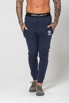 Franklin * Marshall - Classic Skinny Fit Joggers - Navy
