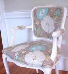 Love this chair redo